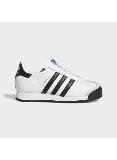 adidas Unisex Çocuk Samoa Spor Ayakkabı EG3000 Beyaz